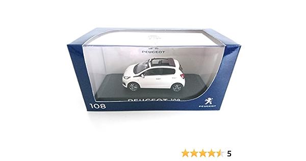 Peugeot 108 Cabriolet White 2014 1 43 Norev Ref 471800 Spielzeug