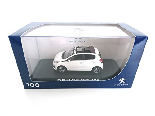 Peugeot 108 Cabriolet Blanche 2014 1/43 NOREV réf: 471800