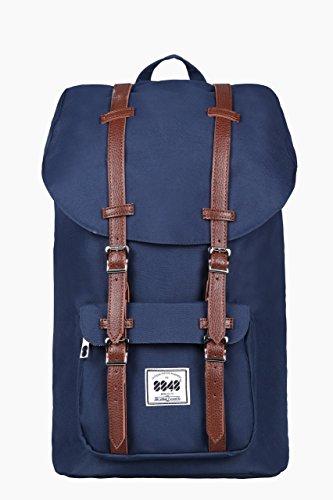 Rucksack Damen Herren Schulrucksack KAUKKO 17 Zoll Laptop Backpack für 15