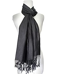 Vozaf Women's Viscose Shawls - Black