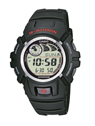 Casio Herren Armbanduhr Collection Digital Edelstahl G-2900F-1VER