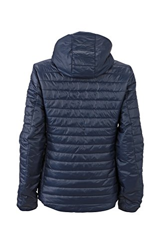 James & Nicholson Damen Lightweight Jacket Jacke Blau (Navy/Aqau)