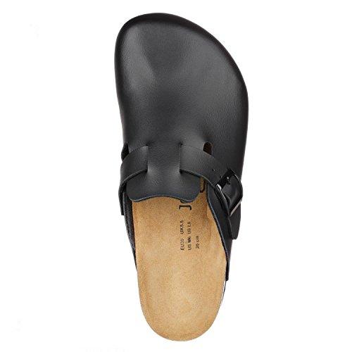 JOE N JOYCE Amsterdam Synsoft pantofola stretto Black