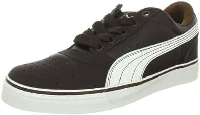 Puma Sky 2 Low Vulc 353272 Unisex-Erwachsene Sneaker, Braun (chocolate brown-whisper white-bison brown 09), EU 40 (UK 6.5) (US 7.5)