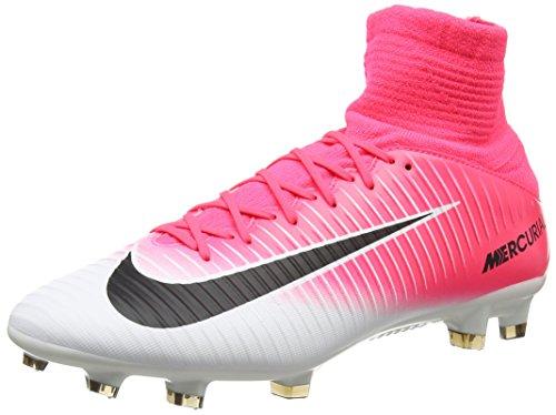 Nike Mercurial Veloce III Dynamic Fit Fg, Scarpe da Calcio Uomo, Rosa (Racer Pink/Black White), 43 EU
