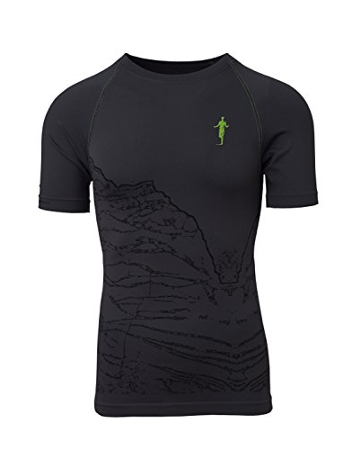 thoni mara Ti-Shirt Greifenstein Laufshirt Running Shirt Laufen Laufshirt 100{f6d9a3dc4727ec6fe0572575bfef5010bbe9915ce658dfffc2a92af205d2ac81} made in Germany - carbon light 1310 - M / 38