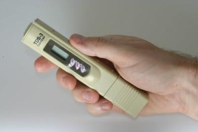EZ tds-3TDS, ¨ Tre diese Nummer© RIQUE für Testen der Qualità ¤ t von Wasser beige