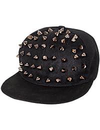 Krystle Stud Spike Crocodile Snapback Hip Hop Cap