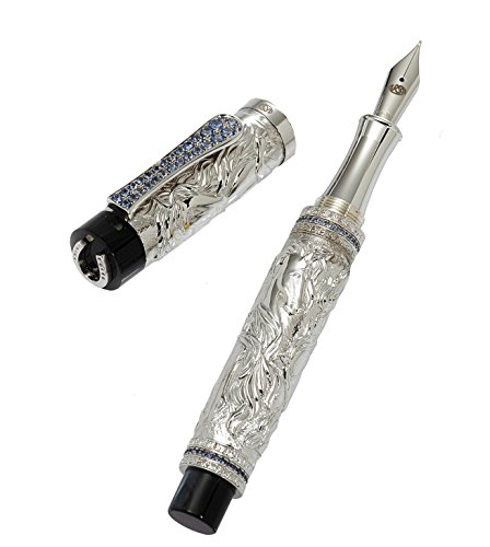 fountain-pen-horse-sterling-silver-and-sapphires-ct310-40-off