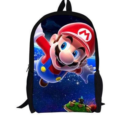 Mario Bros Mochila 44cm Espacio