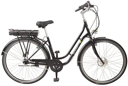 """SAXONETTE Fashion Plus 28\"""" Retro E-Bike 11,6 Ah 7-Gang Shimano Pedelec Elektrofahrrad schwarz"""