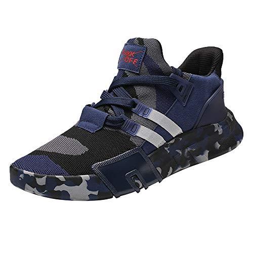 Zapatillas Running Hombre Aire Libre Deporte Transpirables