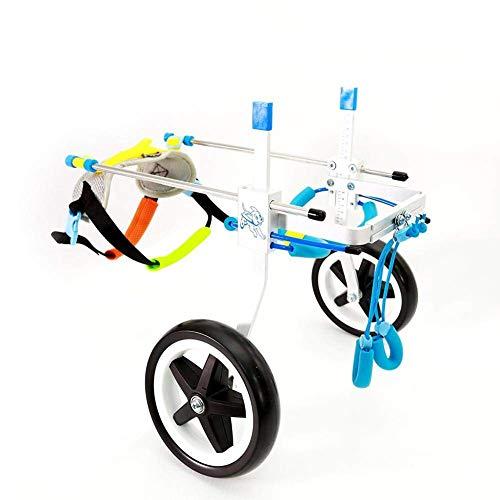 RUNGAO Rollstuhl, verstellbar, für Hund, Hinterbein, Rehabilitation
