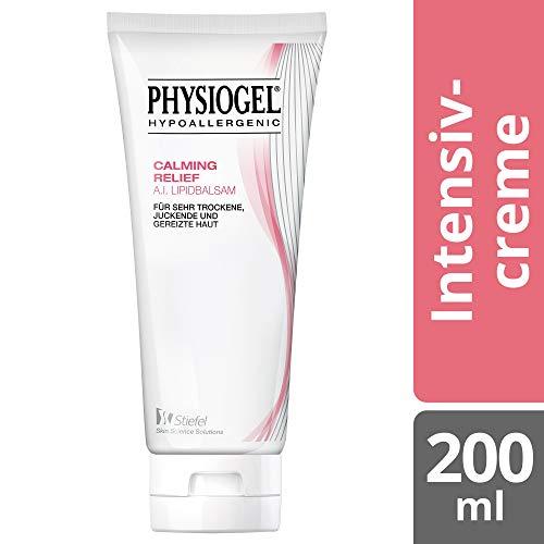 PHYSIOGEL Calming Relief A.I. Lipidbalsam, hypoallergen - Beruhigt trockene, gerötete, juckende Haut, 200 ml