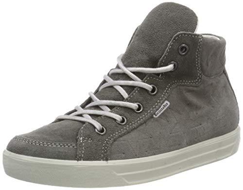 RICOSTA Mädchen Evi Hohe Sneaker, Grau (Patina 475), 38 EU