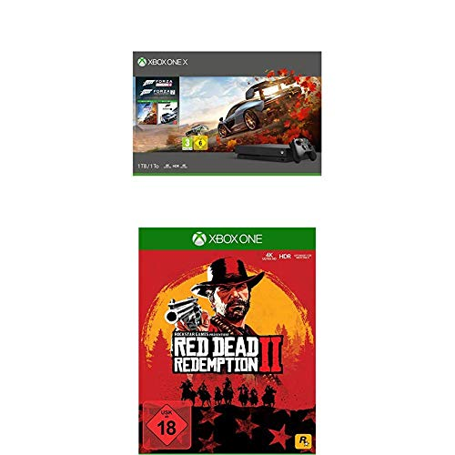 Xbox One X Forza Horizon 4 & Forza Motorsport 7 Bundle + Red Dead Redemption 2 [Xbox One]