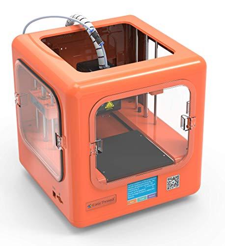 EasyThreed 3D Drucker | Dora| druckt autark, ohne PC (Orange) - 4