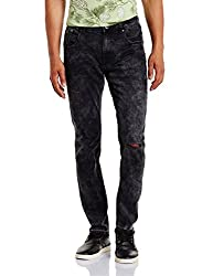 Jack & Jones Mens Skinny Fit Jeans (5713446428684_12122773Black_34W x 34L)