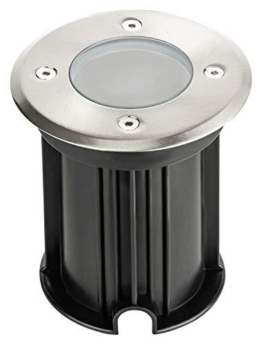 Grundig Foco de suelo para exteriores, salpicaduras–IP65, GU10de maX. 35W–230V | difusor...