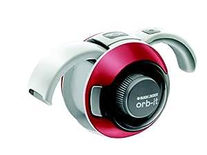 Black + Decker ORB48CRN Aspirateur à Main ORB IT 4,8 V Rouge Cerise