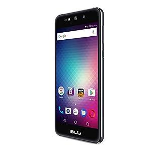 BLU Grand Max - SIM-Free Smartphone- 8GB + 1GB RAM -Grey