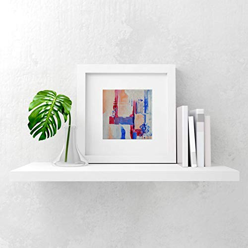 Lamina decorativa en pintura acrílica. Cuadros abstractos modernos. Decoración para enmarcar.