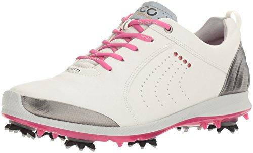 Ecco Womens Golf Biom G 2, Scarpe da Golf Donna White/Candy