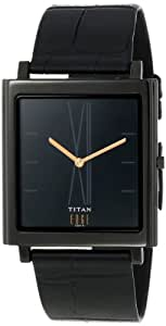 Titan Edge Analog Black Dial Men's Watch - NB1518NL01