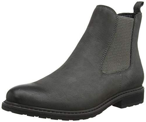 Tamaris Damen 25056-21 Chelsea Boots, Grau (Stone 231), 42 EU