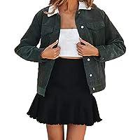 Hanomes Damen Winter warm Mantel Casual Strickjacke Jacket Mode Einfarbig KaschmirPullover Kurzer Jacket Mantel preisvergleich bei billige-tabletten.eu
