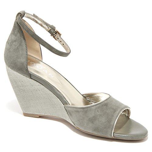 85768 sandalo zeppa HOGAN H 227 FASCIA scarpa donna shoe Verde