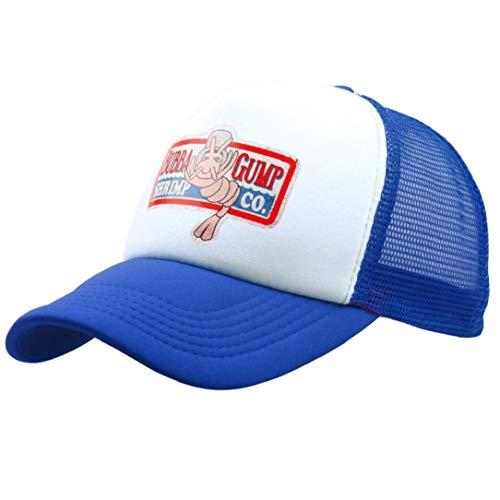 Bubba Gump Cap Shrimp CO. LKW-Baseballmütze Sommer Sport-Hysteresen-Kappe Forrest Gump Justierbarer Hut Für Frauen-Mann (Baby Garnelen Kostüm)