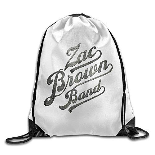 Canvas Drawstring Bag Zac Brown Band Greatest Hits So Far Backpack
