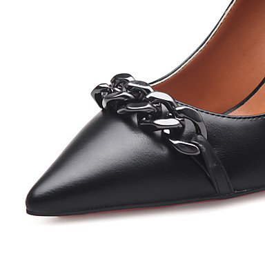 Moda donna sexy sandali scarpe donna Easy Street tacchi a spillo/Pompe Sequin Punta partito tacchi/Sera/vestito più scelta di colori almond