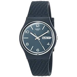 Swatch Reloj Analógico para Unisex Adultos de Cuarzo con Correa en Silicona GN725