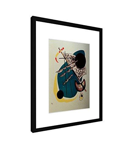 Wassily Kandinsky - Kleine Welten II - 1922 - 30x40 cm - Bild mit Rahmen / Gerahmtes Poster -...