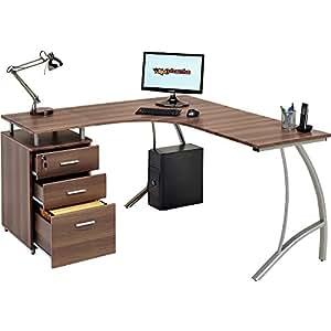 Piranha trading limited pc28w grand bureau d 39 ordinateur d for Grand bureau informatique