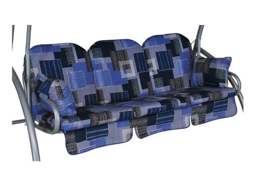 Angerer Deluxe Schaukelauflage 3-Sitzig Design Florenz