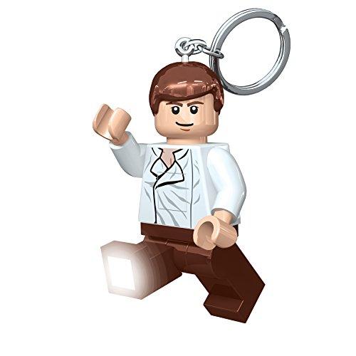 LEGO Schlüsselanhänger mit Taschenlampe, Motiv Star Wars - Han Solo