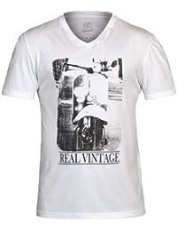 BranditHerren T-Shirt Weiß Weiß