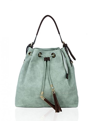 Craze London - Sacchetto Unisex, neonati donna Ragazza Ice berg Green
