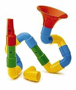 Quercetti - 4170 - Juego Encajables Saxo Flauta Quercetti 24m+