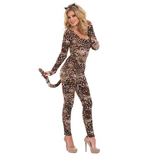 COUGAR CATSUIT Adult Fancy Dress Costume All Sizes (Cougar Kostüm)