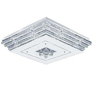 SAILUN® 36W LED Kristall Deckenleuchte Deckenlampe Wohnzimmer Design Licht für Wohnzimmer Schlafzimmer (36W Kaltweiß)