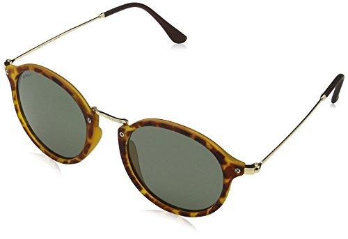 MSTRDS Unisex Spy Sonnenbrille, Mehrfarbig (havanna/green 5153), Herstellergröße: one Size