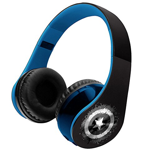 Lexibook BTHP400AV - Avengers Bluetooth Stereo Kopfhörer, blau Avengers Cd-player