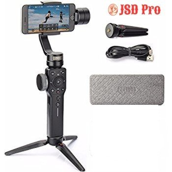 Zhiyun Smooth 4 (Black) - 3 Axis Gimbal with 1 Year Warranty + 1 Year Insurance - JSD Pro®