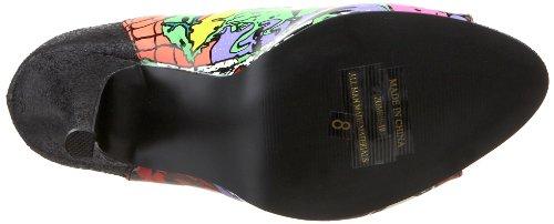 Demonia Zombie 103 - Sandalo con plateau Multicolore (ecopelle multicolore)