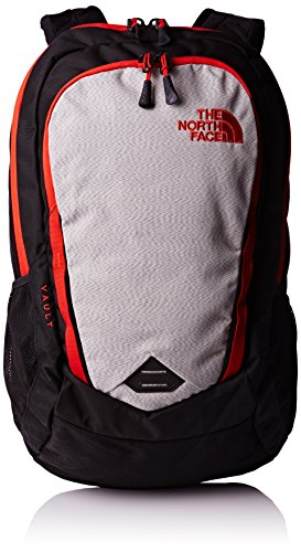 The North Face Zaino adulti Vault, Unisex, Rucksack Vault, Tnf Black/Fiery Red, Taglia unica