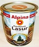 ALPINA Premium Lasur, 4 L. Holz Dickschichtlasur außen, Palisander